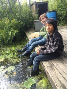 Outdoor learning is a key element of Montessori education